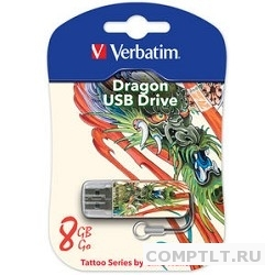 Накопитель Flash USB 8Gb Verbatim Dragon